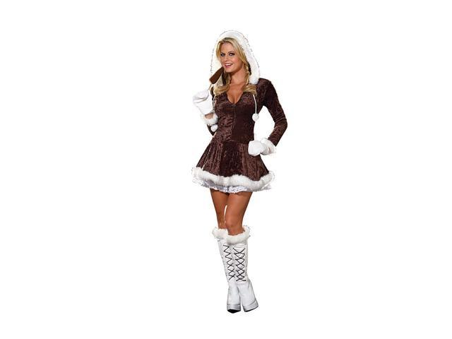 Sexy Eskimo Cutie Costume Adult Medium
