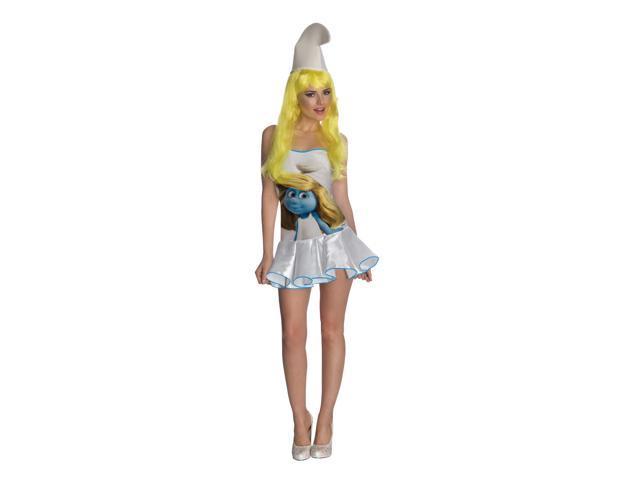 Smurfs Sexy Smurfette Costume Dress Adult X-Small 2-6