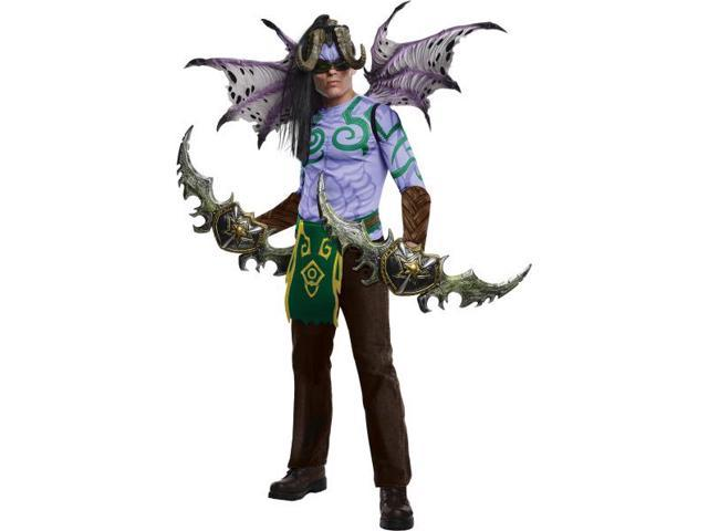 World Of Warcraft Illidan Costume Adult One Size Fits Most Up To 44