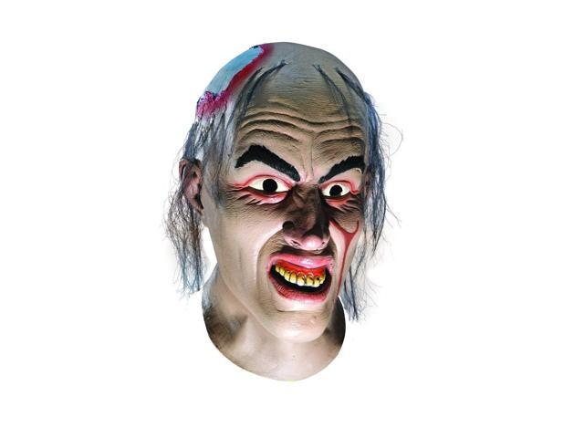 Texas Chainsaw Massacre Chop Top Overhead Latex Adult Mask One Size
