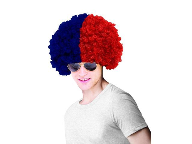 Boston Red Sox Costume Wig Adult One Size Fits Most