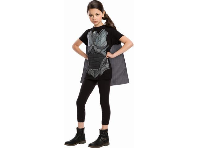 Superman Man Of Steel Faora Costume Top & Cape Child Medium