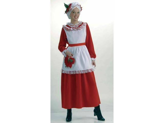 Mrs. Claus Christmas Costume Adult One Size Fits Most