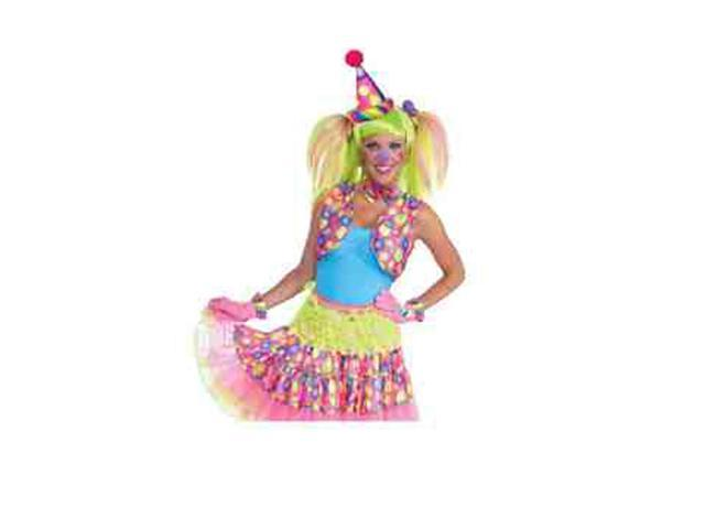 Circus Sweetie Mini Cone Hat Adult Costume Accessory One Size