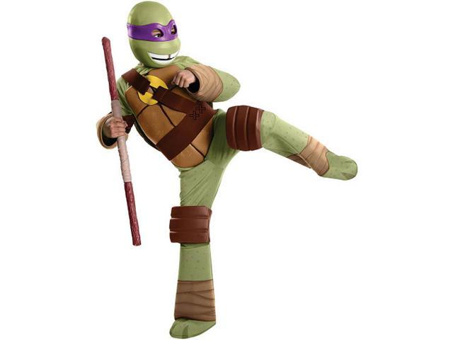 T.M.N.T. Deluxe Donatello Costume Child Large