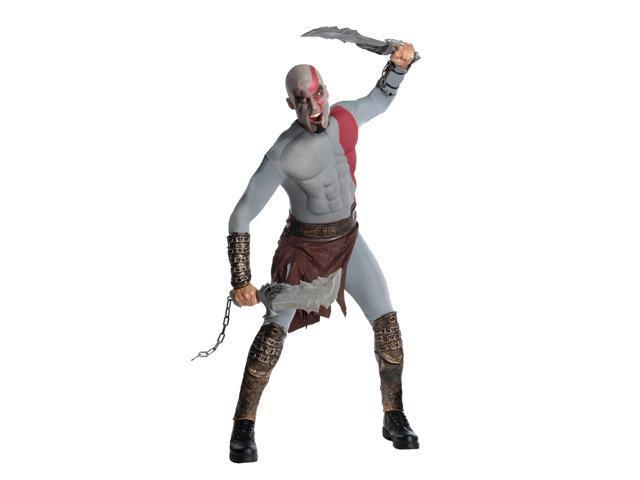 God Of War Kratos Musclechest Costume Adult X-Large 44-52