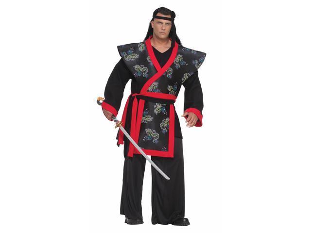 Super Samurai Designer Costume Adult Plus XXX-Large
