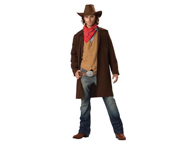 Rawhide Western Cowboy Renegade Duster Designer Costume Adult Large