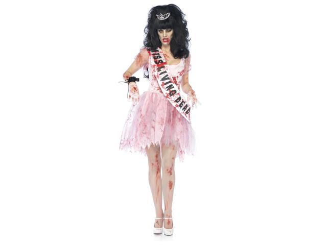 Sexy Bloody Prom Queen Costume Adult Small/Medium 4-8