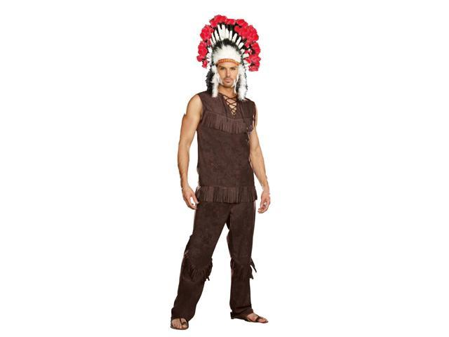 Chief Long Arrow Native American Costume Adult XX-Large