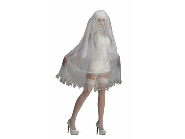 Sexy Sultry Spirit Bride Costume Dress Adult One Size Fits Most