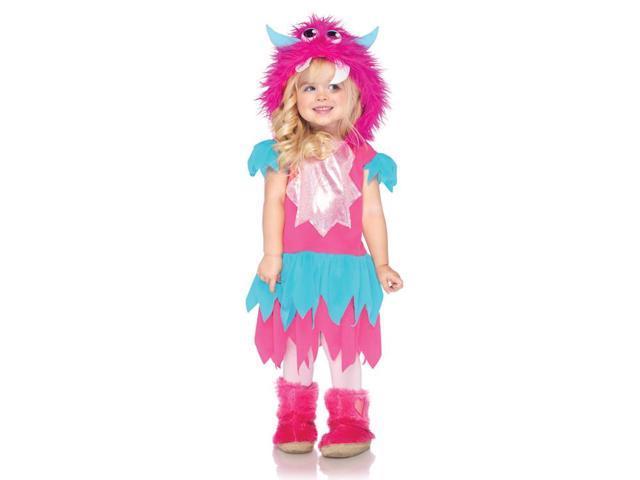 Sweetheart Monster Hooded Costume Dress Child Toddler 3T-4T