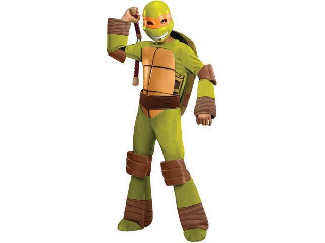 T.M.N.T. Deluxe Michelangelo Costume Child Medium