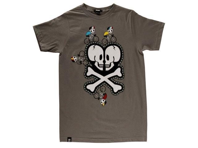 Tokidoki Skully Logo Adult T-Shirt X-Large