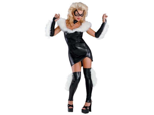 Marvel Black Cat Sexy Prestige Adult Costume 8-10