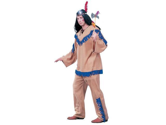 Native American Brave Costume Adult One Size Fits Most