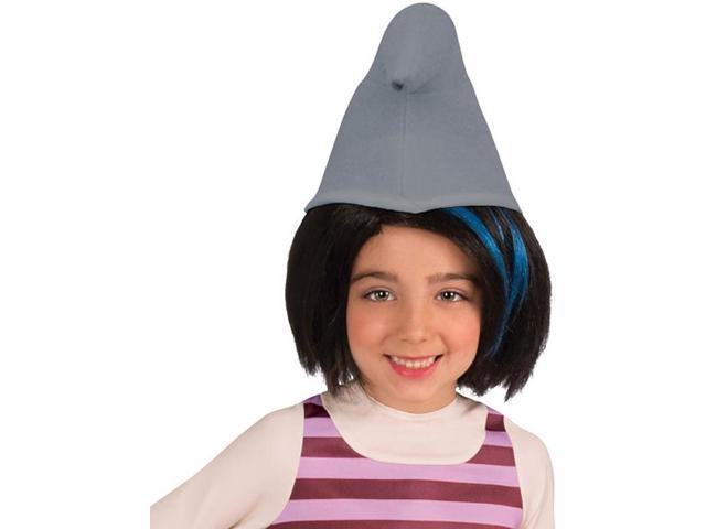 The Smurfs 2 Vexy Costume Wig Child: Black & Blue One Size