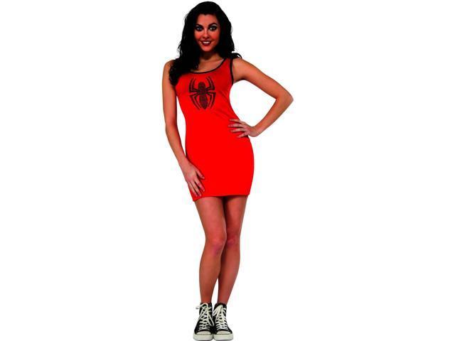 Marvel Spidergirl Tank Dress Adult Costume Medium
