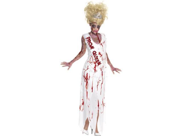 High School Horror Prom Queen Adult Costume Dress Large