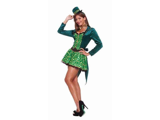 Sexy Leprechaun Lady Costume Adult Medium