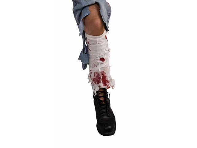 Bloody Leg Bandage Costume Accessory One Size