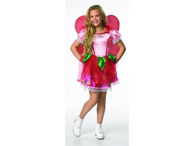 Strawberry Shortcake Fairy Child Costume Medium 8-10