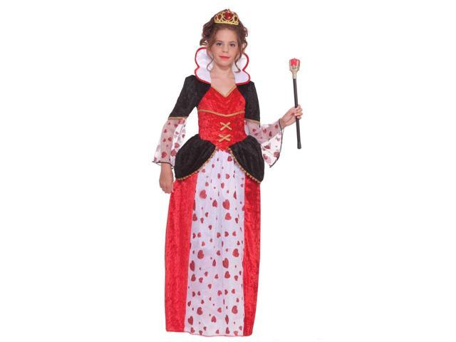 Queen Of Hearts Child Costume Small