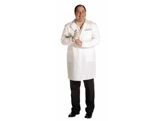 Lab Coat Costume Sexymour Bush Gynecologist Adult Plus Plus 14-20