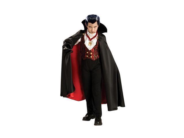 Transylvanian Vampire Premium Dracula Costume Child Medium