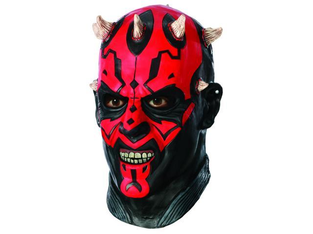 Star Wars Darth Maul Deluxe Overhead Latex Costume Mask Adult One Size