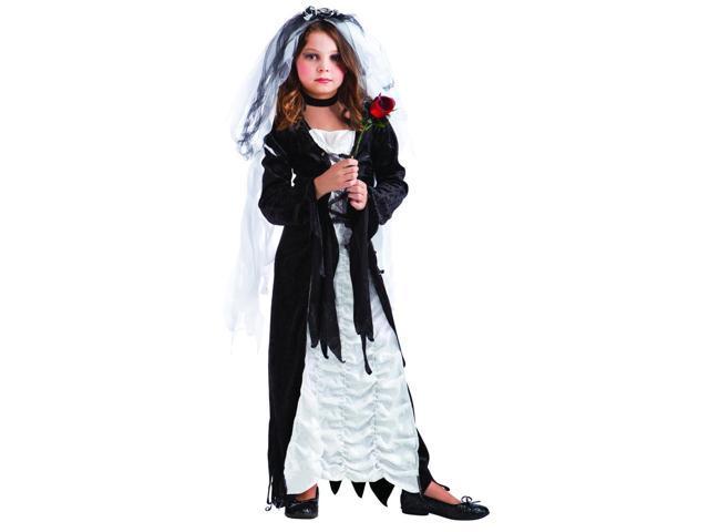 Bride Of Darkness Costume Child Small 4-6