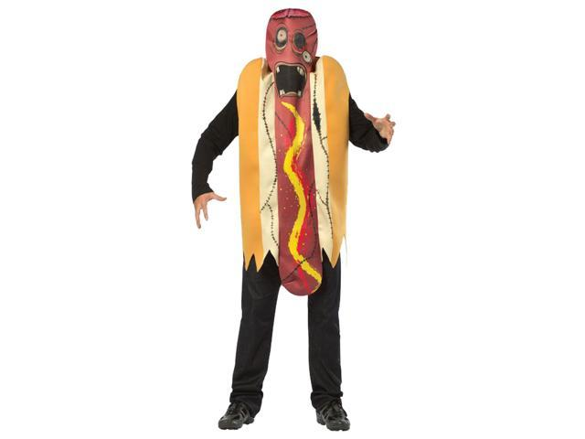 Zombie Hot Dog Adult Costume Plus