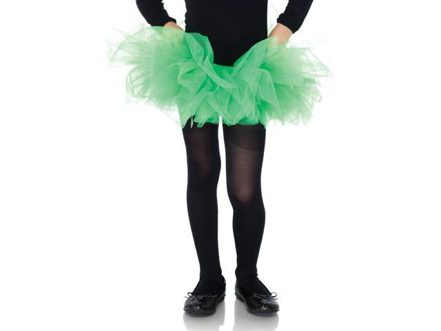 Neon Green Organza Costume Tutu Child One Size
