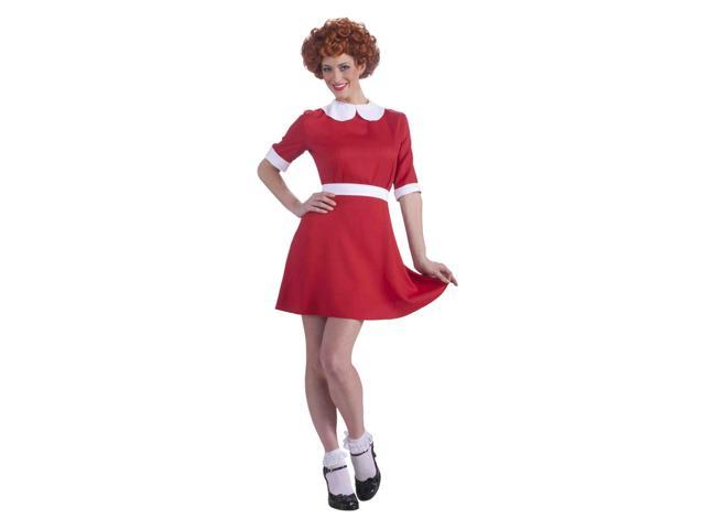 Little Orphan Annie Adult Costume One Size Fits Most