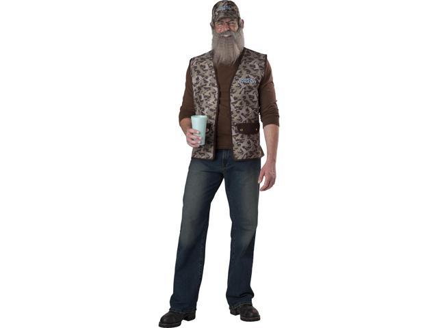 Duck Dynasty Adult Costume Uncle Si One Size Fits Most
