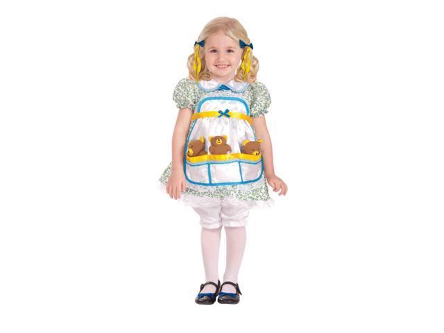 Goldilocks And The Three Bears Child Costume Toddler