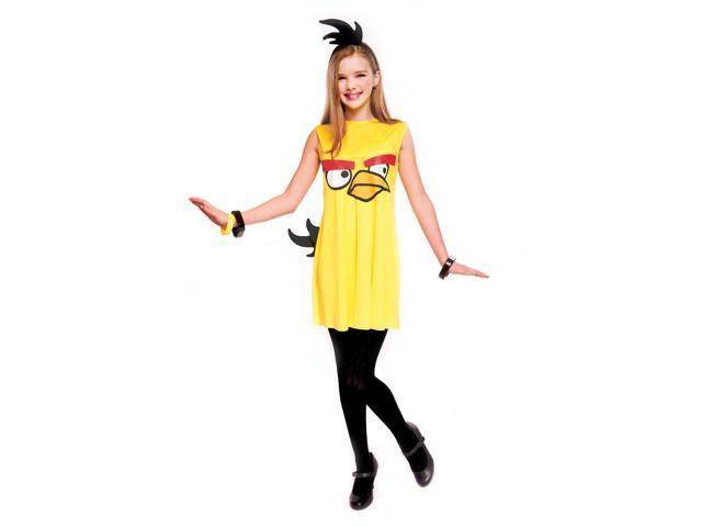 Angry Birds Yellow Bird Child/Tween Costume Medium 7-8