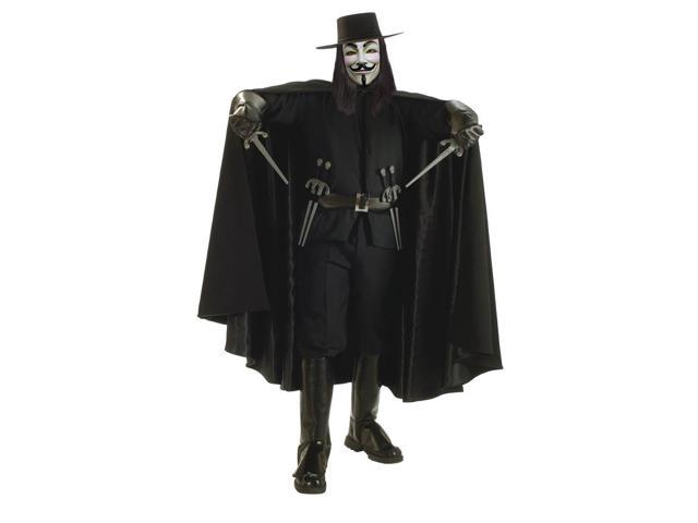 V For Vendetta Grand Heritage Deluxe Adult Costume Standard