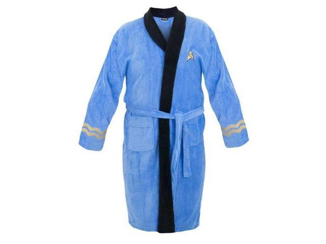 Star Trek Spock Adult Bathrobe One Size Fits Most