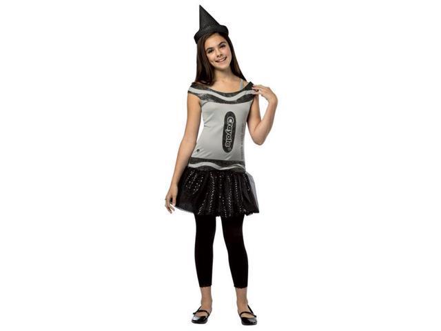 Crayola Glitz & Glitter Dress Costume Tween: Deep Space Sparkle Tween 10-12