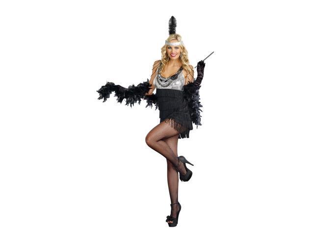 Sexy Razzmatazz Flapper Costume Dress Adult X-Large