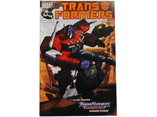 Transformer Comic - Generation 1, Preview 1, Print 1