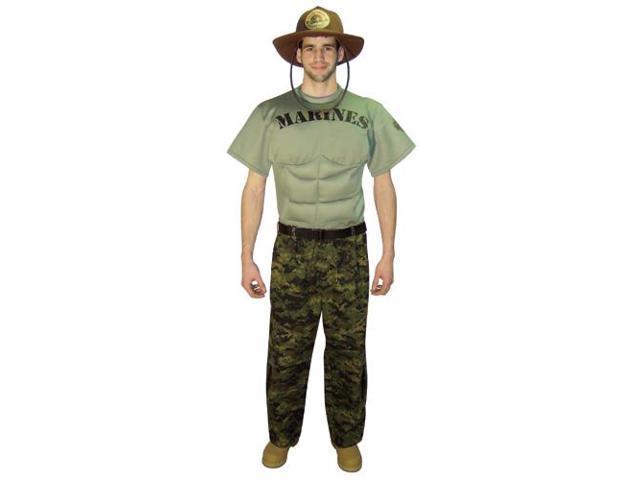 Marines Uniform Adult Costume Large