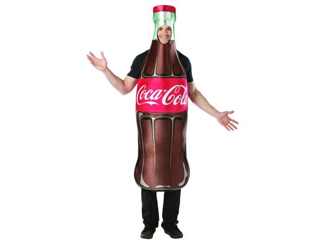 Coca Cola Bottle Regular Costume Adult One Size Fits Most
