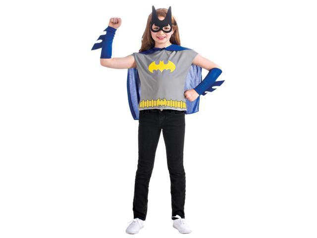 Batgirl Costume Set Child One Size