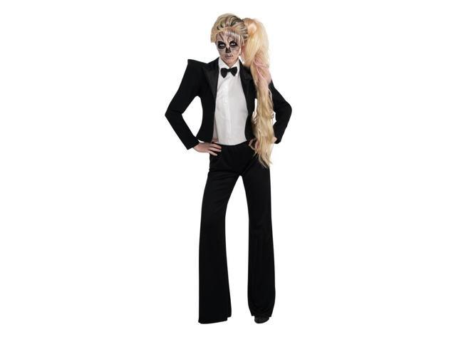 Lady Gaga Tuxedo Costume Adult X-Small