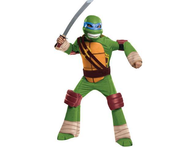 T.M.N.T. Deluxe Leonardo Costume Child Large