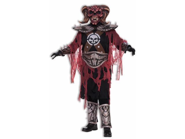Evil Demon Warrior & Mask Costume Adult Standard