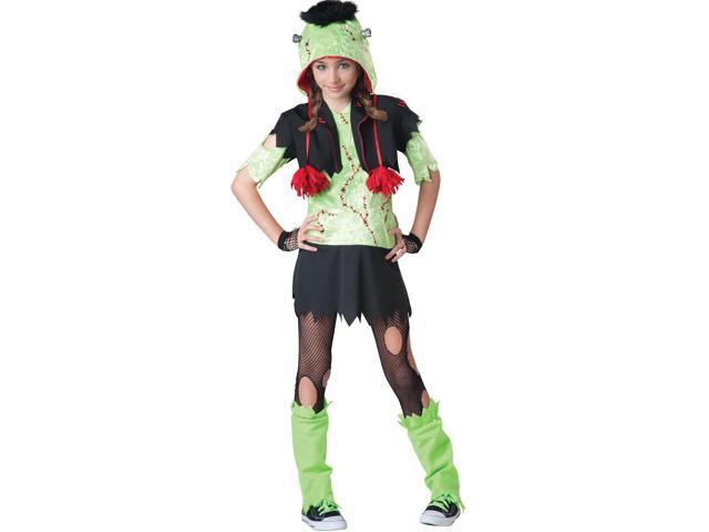 Monster Gurl Frankenstein Costume Tween Small