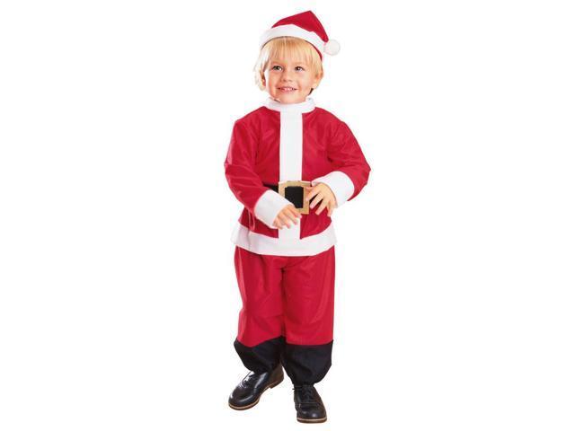 Lil' Santa Claus Costume Infant 6-12 Months